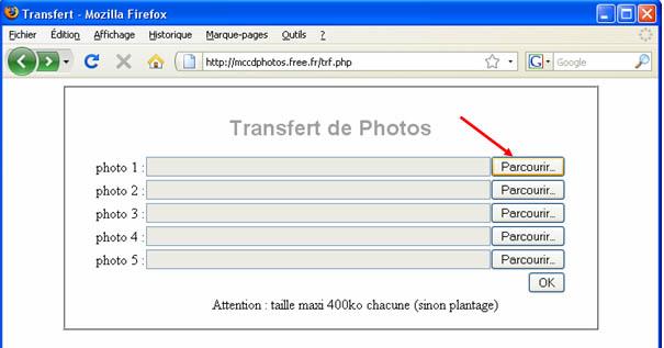 Herbergement de photos Trf01